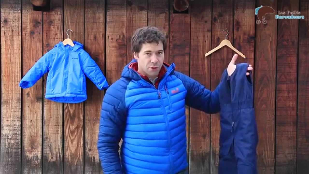 ensemble ski enfant columbia buga set youtube. Black Bedroom Furniture Sets. Home Design Ideas
