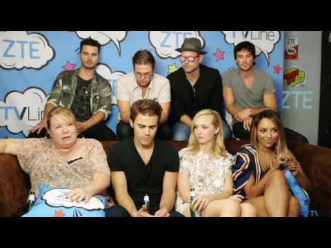 IAN SOMERHALDER RUDE ABOUT NINA DOBREV'S RETURN