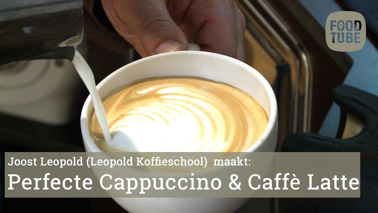 De Perfecte Cappuccino En Caffè Latte Maken Youtube