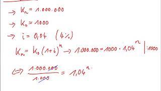 Laufzeitbestimmung (Zinseszins)