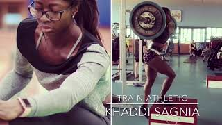 WOW SEXY KHADDI SAGNIA IN TRAINING