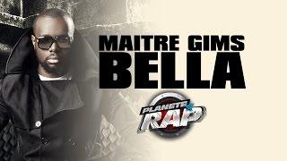 """Maître Gims """"Bella"""" en live dans Planète Rap."""