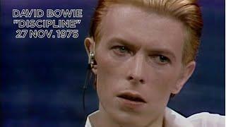 David Bowie • Discipline • 27 November 1975