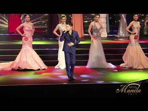 James Reid, pinakilig ang Miss Manila 2017 Candidates!