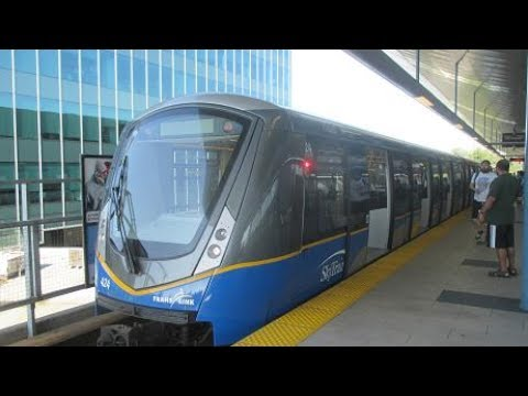 TransLink Expo Line SkyTrain - Production Way-University - Columbia (2017)