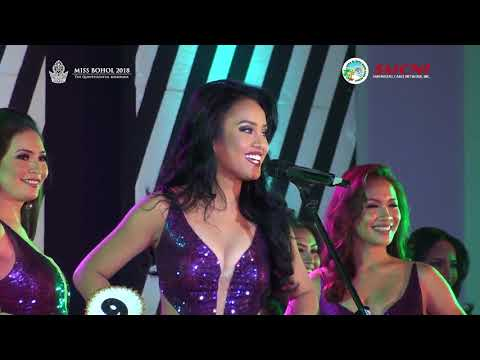 Miss Bohol 2018 Talent Competition