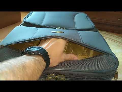 Как выбрать чемодан и обзор чемодана Santa Fe