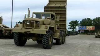M817 5 Ton 6x6 Dump Truck