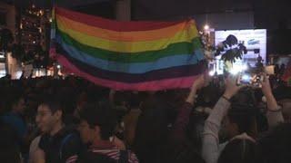 Activistas y población LGTBI protestaron contra discriminación en Bogotá