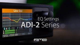 RME Audio - ADI-2 Series EQ Settings