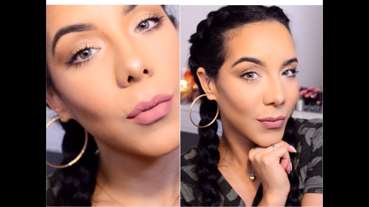 maquillaje natural para el dia luce bella y fresca youtube