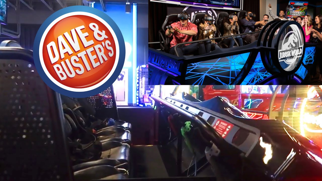 Dave Busters Vr Experience And New Games Myrtle Beach