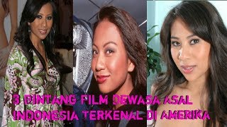 Download Video 3 Bintang Film Dewasa Asal Indonesia Terkenal di Amerika MP3 3GP MP4