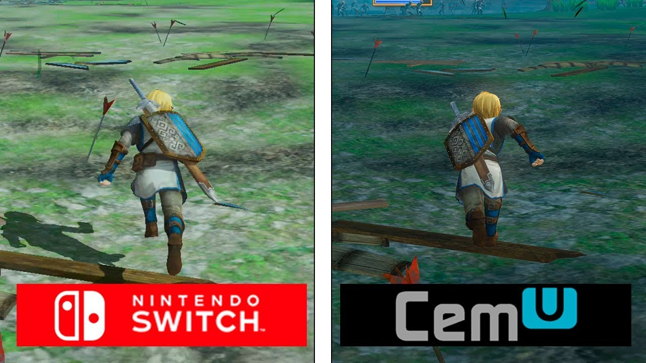 Hyrule Warriors Switch Vs Cemu 4k Graphics Comparison Youtube