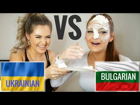 LANGUAGE CHALLENGE - UKRAINIAN VS BULGARIAN