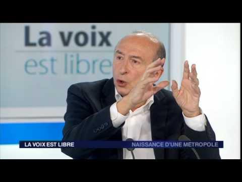 La voix est libre : Gérard Collomb et la métropole