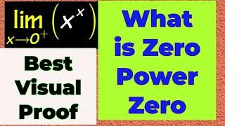 what is zero to the power of zero|zero raised to power zero|0 power 0|zero to the power of 0 limit