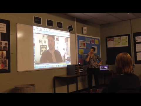 Skype  with actor Richard Mylan Nov' '16