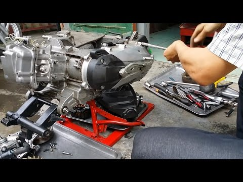 Rã Máy Honda Air Blade 125, Học Sửa Xe Máy Tại Toàn An đồng HP