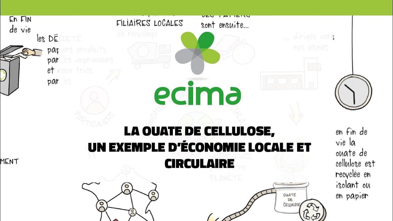 La Ouate De Cellulose Un Exemple D Economie Locale Et Circulaire Youtube