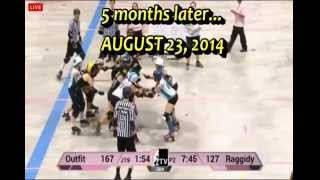 Chicago Outfit Roller Derby: 2014 Rising