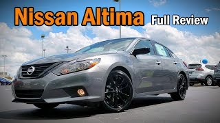 2018 Nissan Altima SR Midnight Edition: FULL REVIEW | Still Competitive with Camry & Accord?