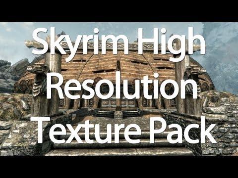 Skyrim High Resolution Texture Pack - Download