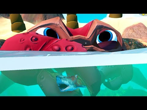 LEVEL 250 GIANT CRAB! - Feed and Grow Fish - Part 64 | Pungence