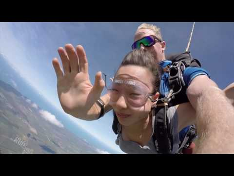 My first Jump--Sky diving in Cairns
