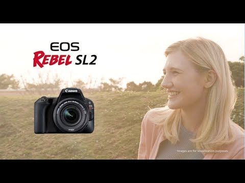 Official Canon Rebel SL2 Digital Camera Introduction