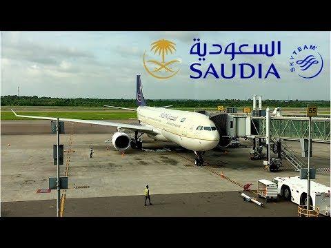 Saudia   A330-300   Hyderabad, India (Rajiv Gandhi)  ✈ Jeddah   Business Class  