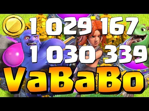 MILLION LOOT VABABO!  The Ultimate Queenwalk Army!  Th10 Farm to Max | Clash of Clans