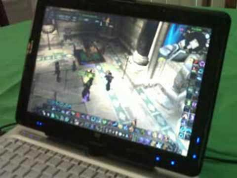 tx2500z Video Graphics Review using WoW
