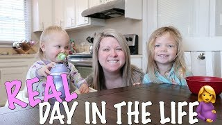 day in the life with a newborn