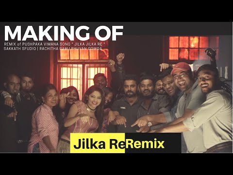 Making Of Jilka Remix Ft. RachithaRam | PushpakaVimana | BhuvanGowda |Suchin | Rj Pradeepaa
