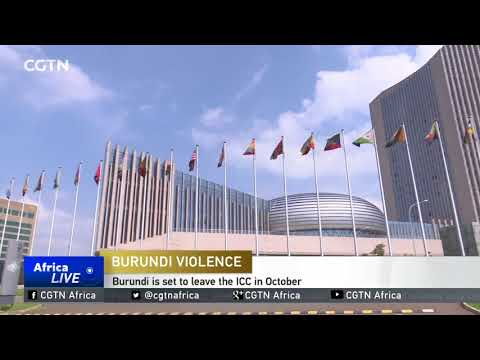 AU opposes UN proposal that the ICC prosecute Burundi