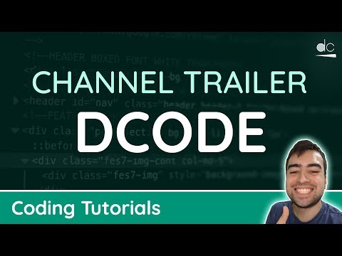 Welcome To Dcode - Over 400 Coding Tutorials!