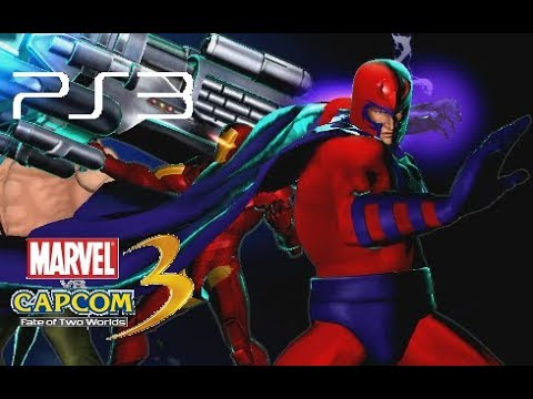 Marvel Vs. Capcom 3 Playthrough (PS3)