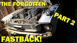 Forgotten 1965 Mustang First start in 44 years, Fastback Revival Part 2