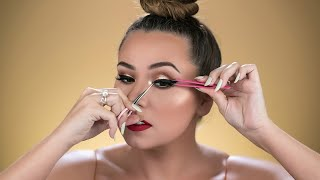 HOW TO APPLY FALSE LASHES - FOR BEGINNERS