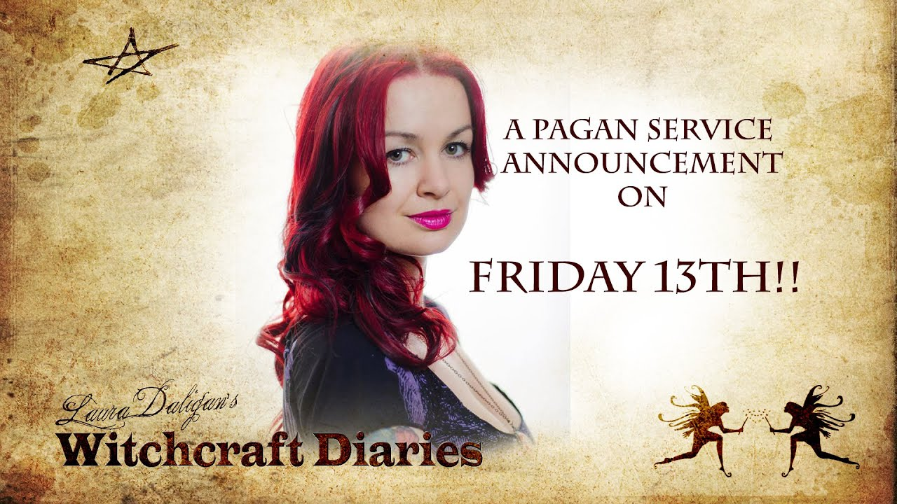 A Pagan Service Announcement on Friday 13th