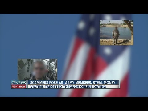 Military romance scams trick victims out of money