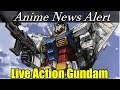 Gundam Live Action Movie Annouonced