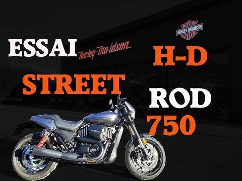 Fabike #Essai Harley-Davidson street rod 750 (éligible A2)