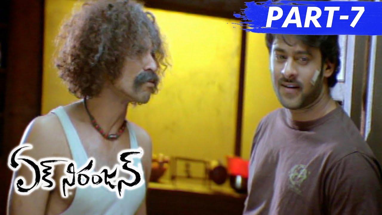 Ek Niranjan Movie Action Scenes - Prabhas Warning to Sonu