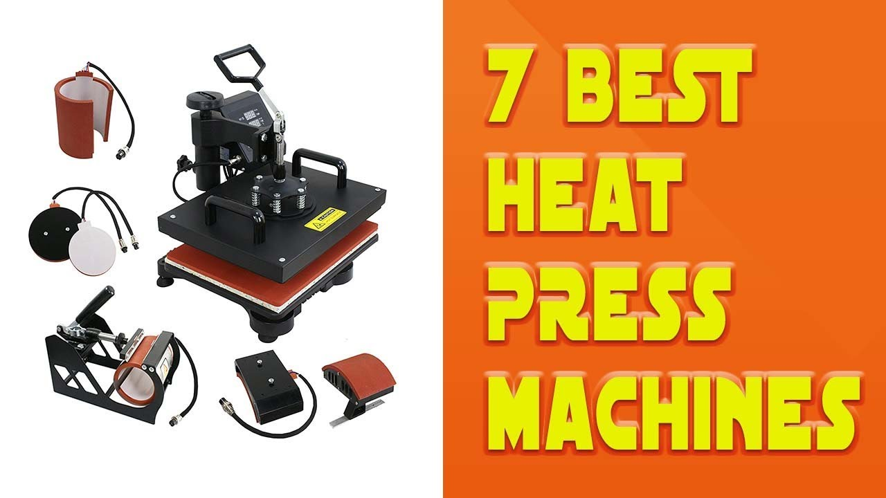 7 Best Heat Press Machines 2018 - Best Solution For T ...
