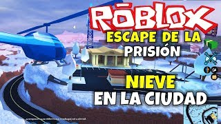 SNOW IN THE CITY! ROBLOX: ESCAPE FROM PRISON (JAILBREAK)