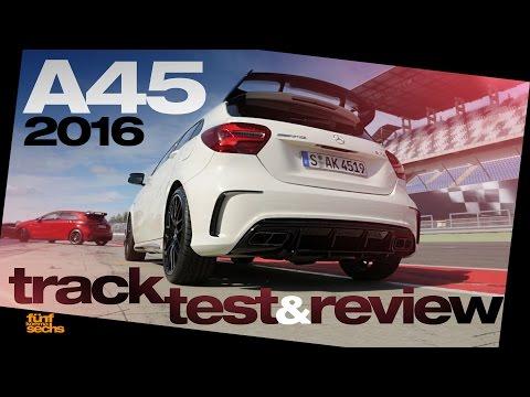Mercedes-AMG A 45 4MATIC Testdrive & Review (German) Pt.1