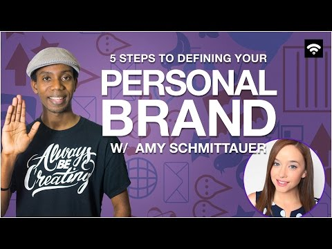 5 Steps to Defining Your Personal Brand with Amy Schmittauer
