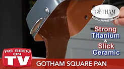 Gotham Steel Square Pan - Healthy Cooking With Non-Stick Ti-Ceramic Technology
